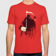 Death Note Mens Fitted Tee Red SMALL