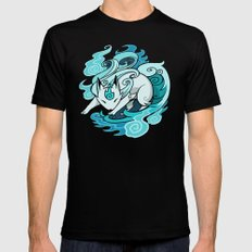 Ghostfire Fox Mens Fitted Tee Black SMALL