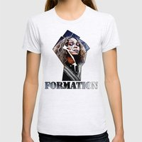 Formation Womens Fitted Tee Ash Grey SMALL