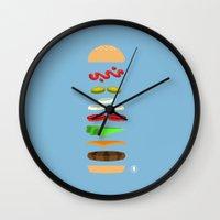 Chz Brgr Wall Clock