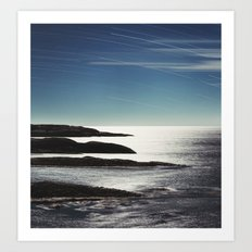 Fingers in the Atlantic Art Print