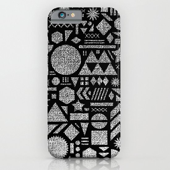 Modern Elements with Black. iPhone & iPod Case