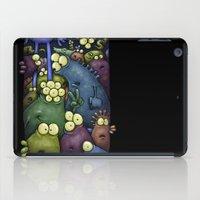 Crowded Aliens iPad Case