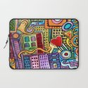 Pretty City Laptop Sleeve