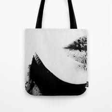 pois on mouth Tote Bag