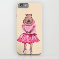 Capybara Ballerina  iPhone 6 Slim Case
