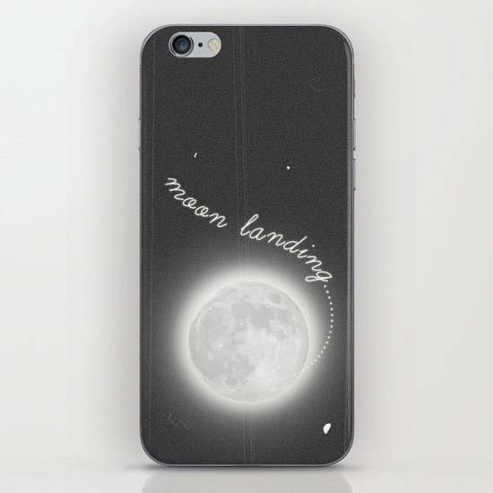 Moon Landing! iPhone & iPod Skin