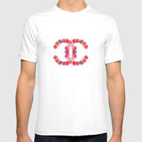 Channel Of Roses Mens Fitted Tee White SMALL