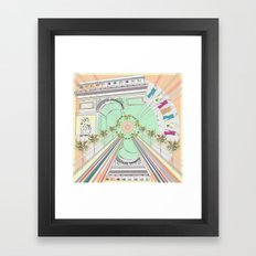 Parisienne Framed Art Print