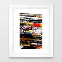 Journal  Framed Art Print