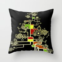 XMAS TREE  Throw Pillow