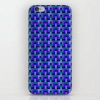 Woven Pixels II iPhone & iPod Skin