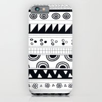iPhone & iPod Case featuring tribal pattern by Hadeel alharbi