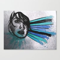 Facial Expressions Canvas Print