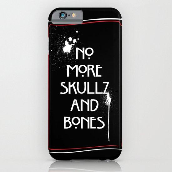 NoMoreSkullz&Bones iPhone & iPod Case