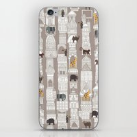 urban jungle pebble iPhone & iPod Skin