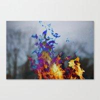 Fire II Canvas Print
