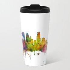 Minneapolis Minnesota Skyline Travel Mug