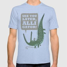 See You Later, Alligator… Mens Fitted Tee Athletic Blue SMALL