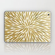 Golden Burst Laptop & iPad Skin
