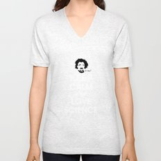 Keep Calm and Love Science Unisex V-Neck