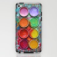 iPhone & iPod Skin featuring Paint Box by DavinciArt
