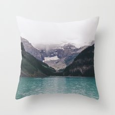 Lake Louise Throw Pillow