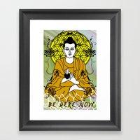 Higher Buddha Self Framed Art Print