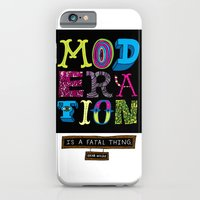 Moderation is Fatal iPhone 6 Slim Case