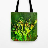 Thistle And Weeds Tote Bag