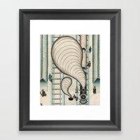 Jack London #3 Framed Art Print
