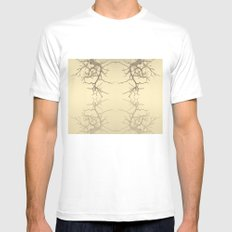 branches#06 Mens Fitted Tee White SMALL
