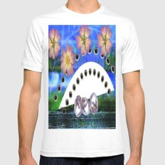 Painting fantasy  Mens Fitted Tee White SMALL