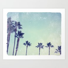Palm prix Art Print