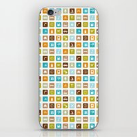 Travel Icons iPhone & iPod Skin