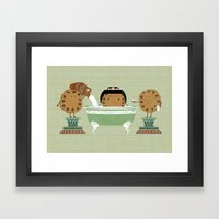 Cleopatra Was A Cookie Framed Art Print