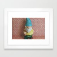 Chillin' with my Gnomies - I Framed Art Print