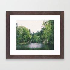 maudslay pond Framed Art Print