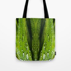 Floral Reflections in water Tote Bag