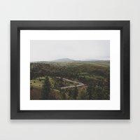 John Day River Framed Art Print