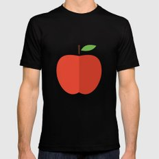 Apple 17 Mens Fitted Tee SMALL Black