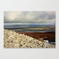 Carrowkeel Megalithic Tomb Canvas Print