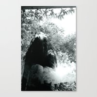 Horror Story  Canvas Print