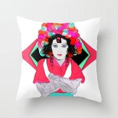 Anna May Throw Pillow