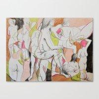 Mademoiselle Canvas Print