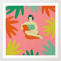 Silla Art Print