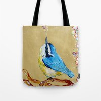 Spring Songbird  Tote Bag