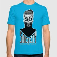 Vision I  Mens Fitted Tee Teal SMALL