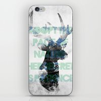 Adopt The Pace Of Nature… iPhone & iPod Skin