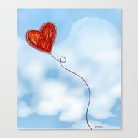 Elusive Heart Canvas Print